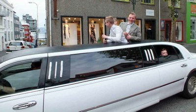 Iceland limousine