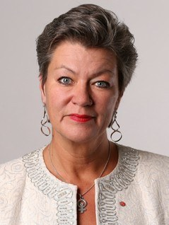 Ylva Johansson front page