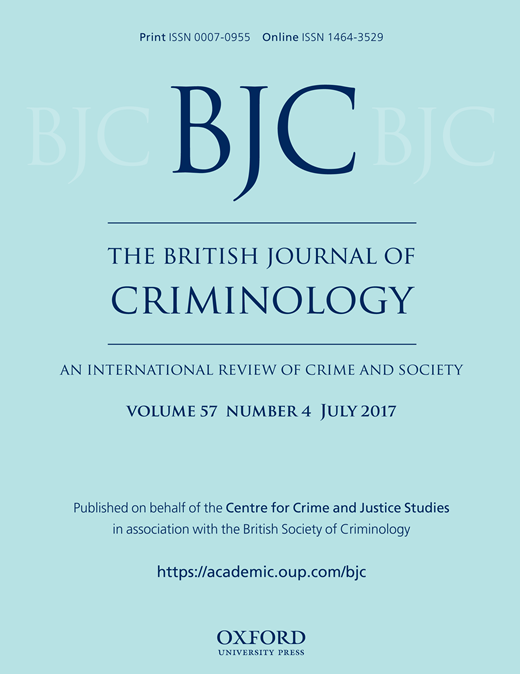 British Journal of Criminology