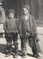 Children chimney sweeps