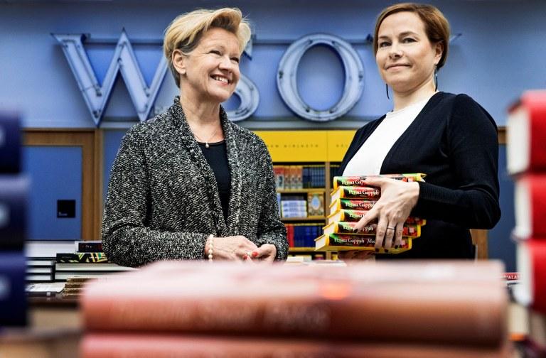 Margit Klemetti, Kati Lampela