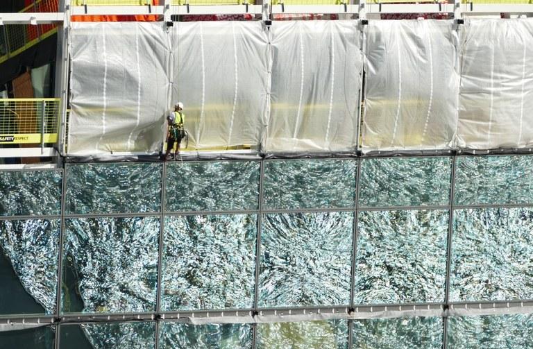 Munch Museum glass front