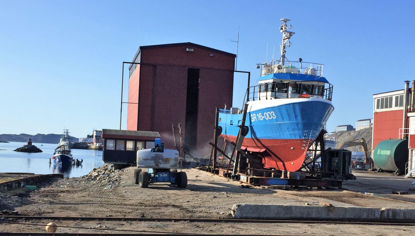 Greenland ship yard