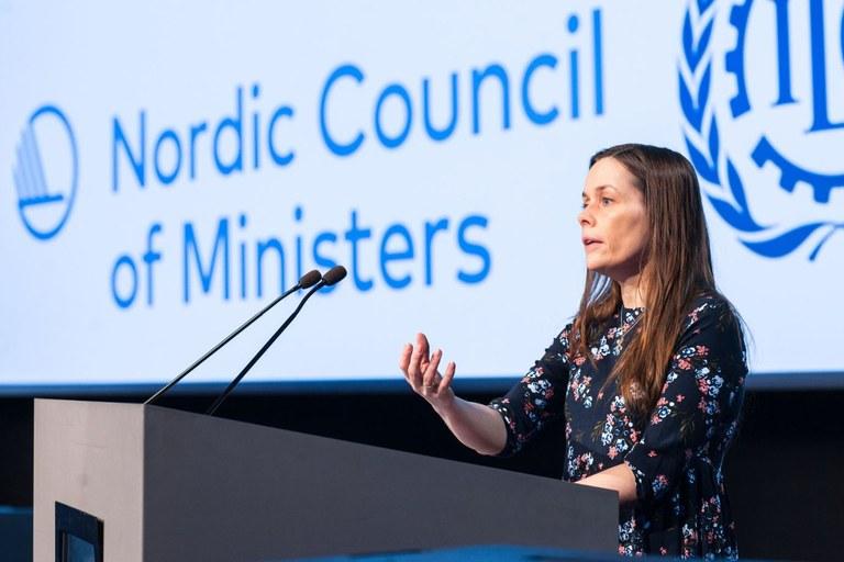 Sonja Ýr Þorbergsdóttir.