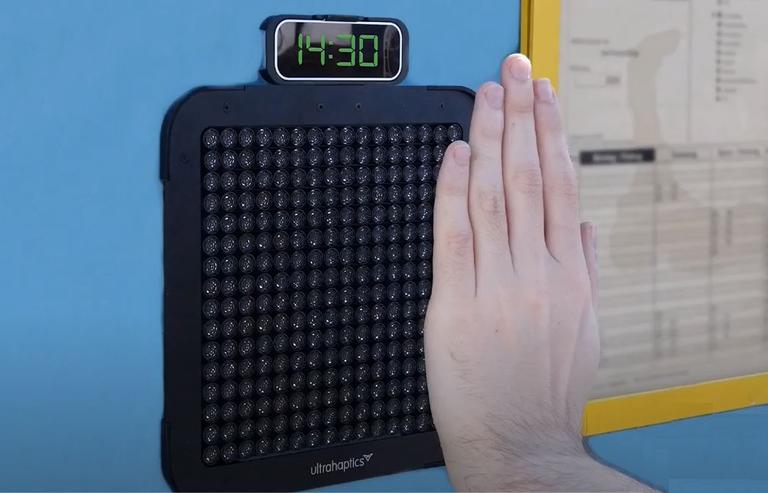Haptic braille