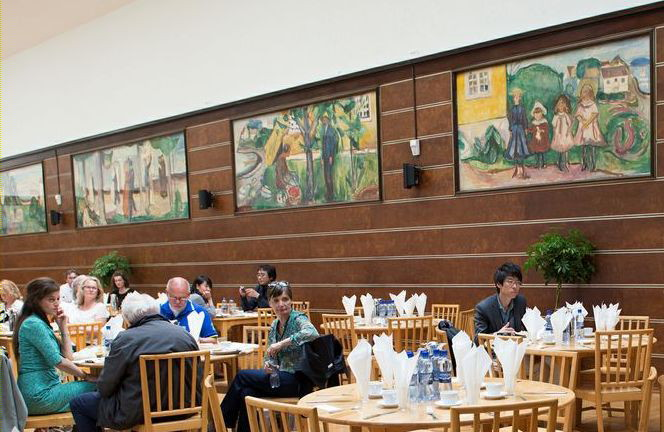 Munch in the canteen – for Freia's workers only the best was good enough
