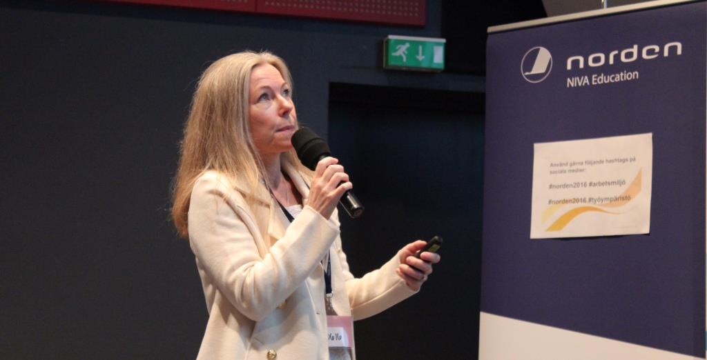 Birgitta Forsström – The fresh thinking Nordic region's working environment director