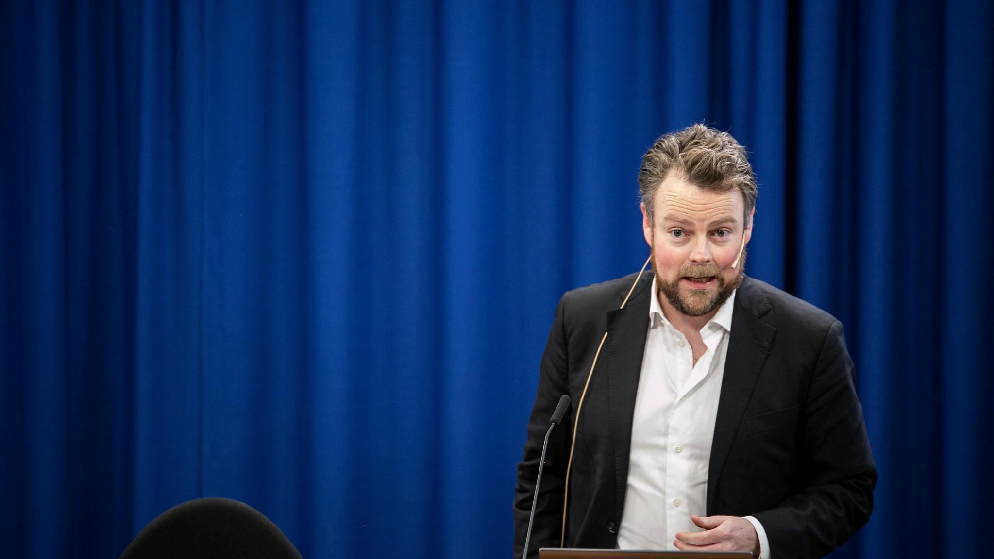 Torbjørn Røe Isaksen takes on tricky government post