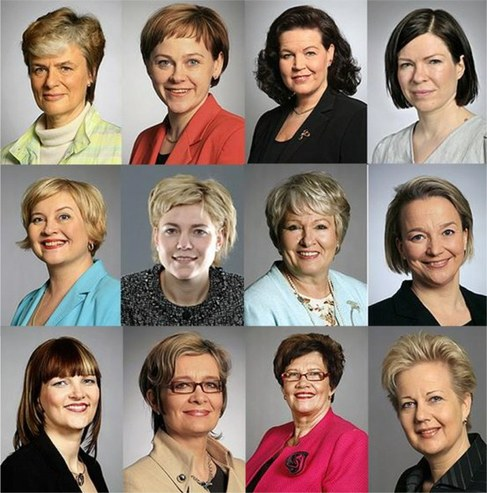 Finnish femal ministers