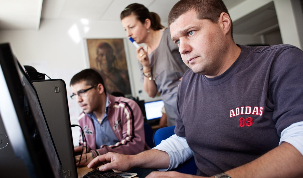 Free workplace language training in Denmark