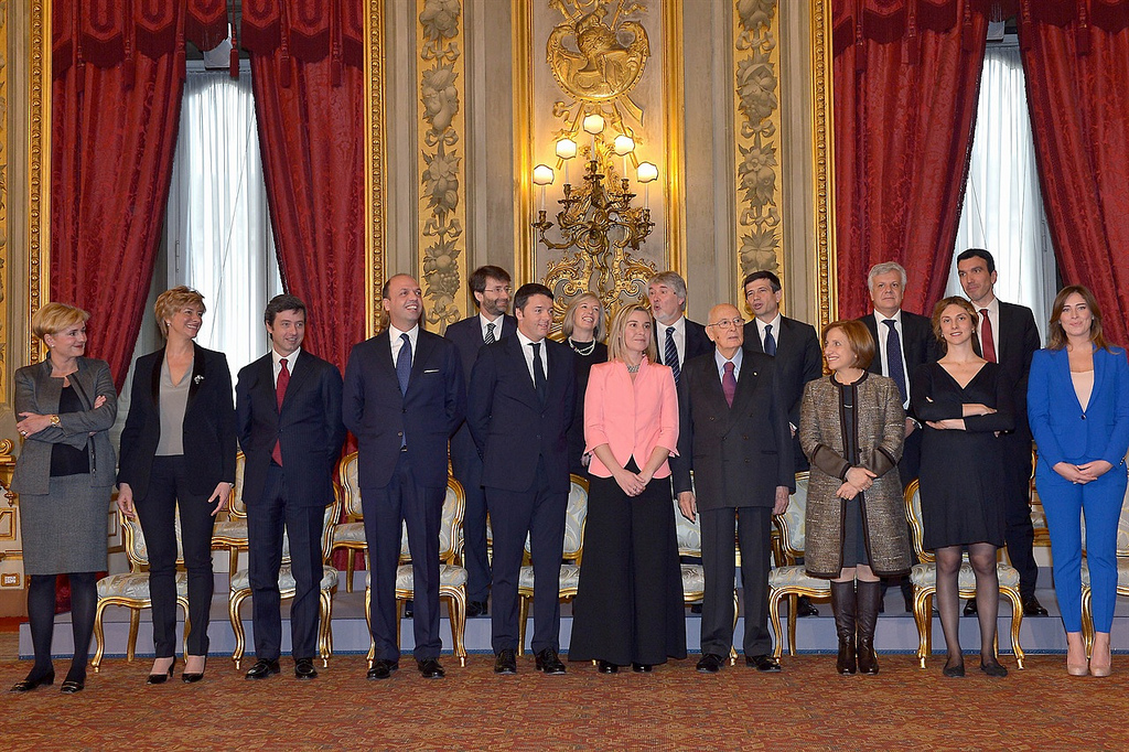 Italy chooses women in times of crisis