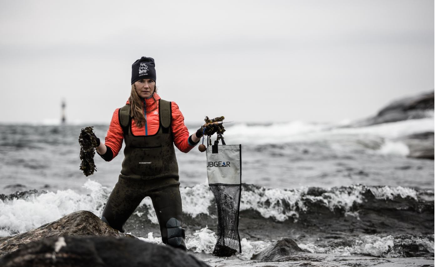 Passionate about seaweed: healthy, tasty and plentiful