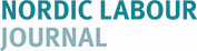 This is the logo of Nordic Labour Journal