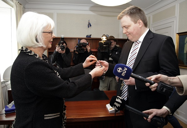 New government in Iceland
