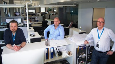 Infection control key as Rambøll reopen open-plan office