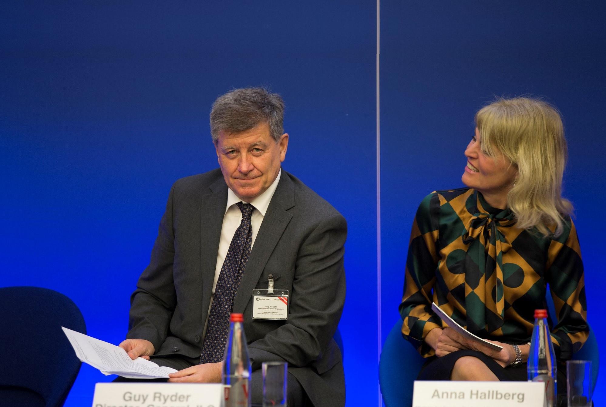 Global initiative to strengthen social dialogue